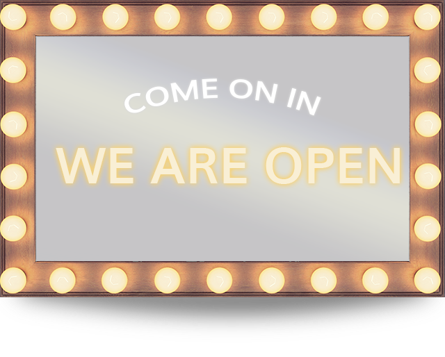 we are open mirror